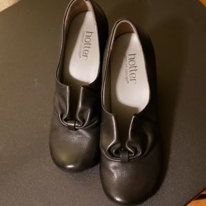 HOTTER leather shoes size 5